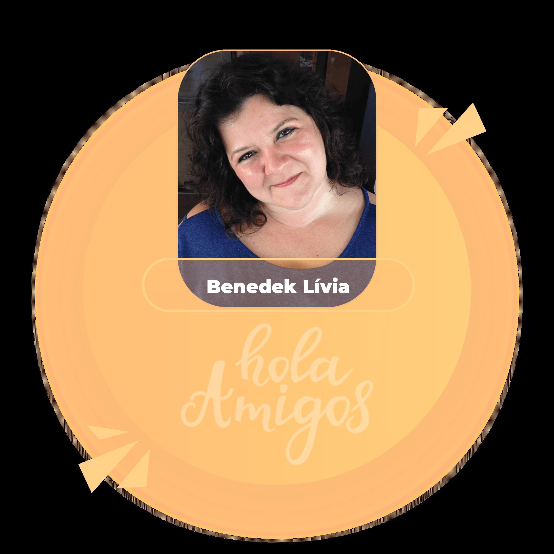 Benedek Lívia - Spanyol tanár